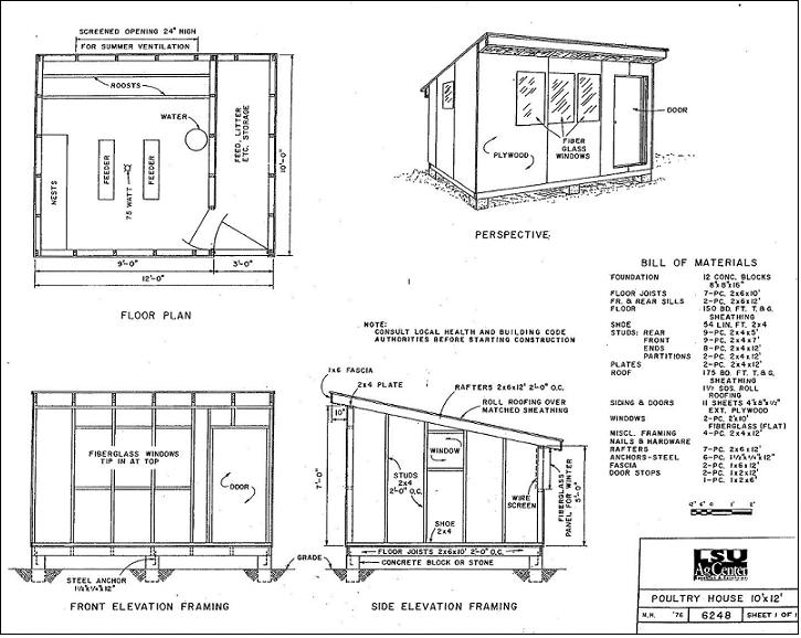 Hen House Plans Pdf Home Design And Style